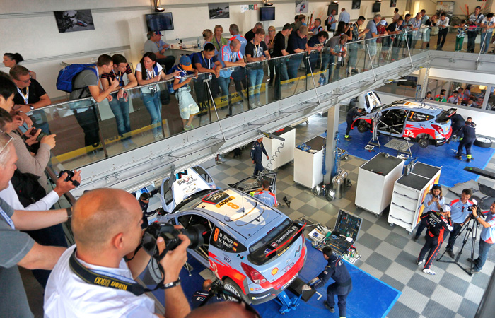 hyundai motorsport hospitality photo