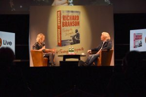 Richard Branson launches his autobiography Finding My Virginity