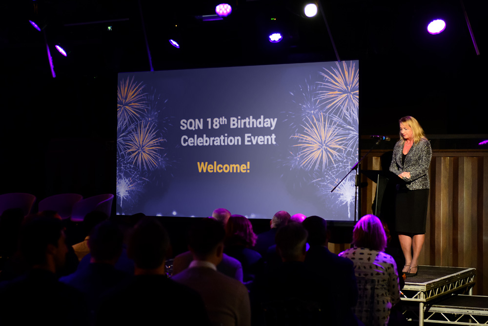 Celebrating 18 years with industry insights and networking at Ministry of Sound