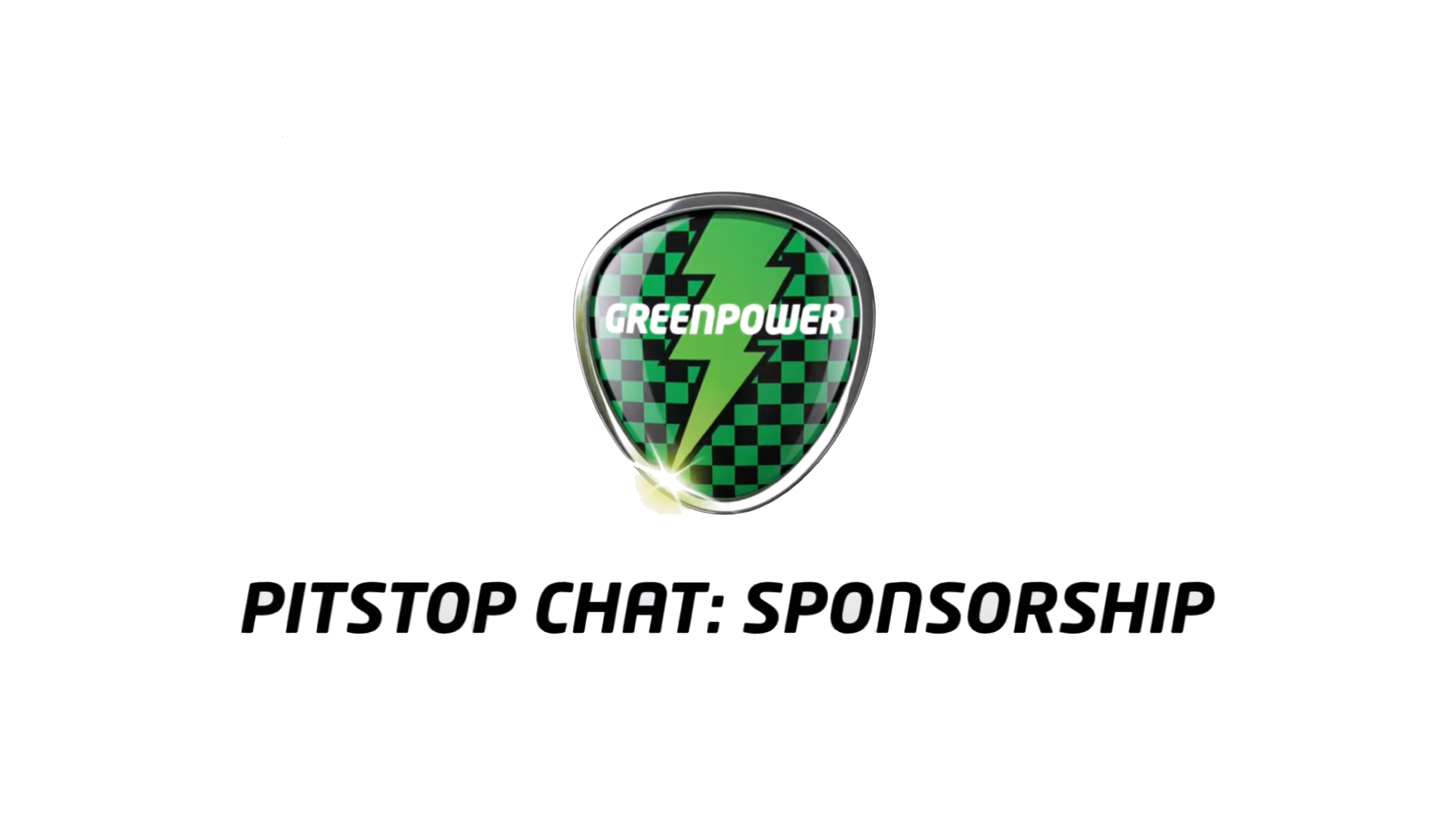 Talking sponsorship with Greenpower