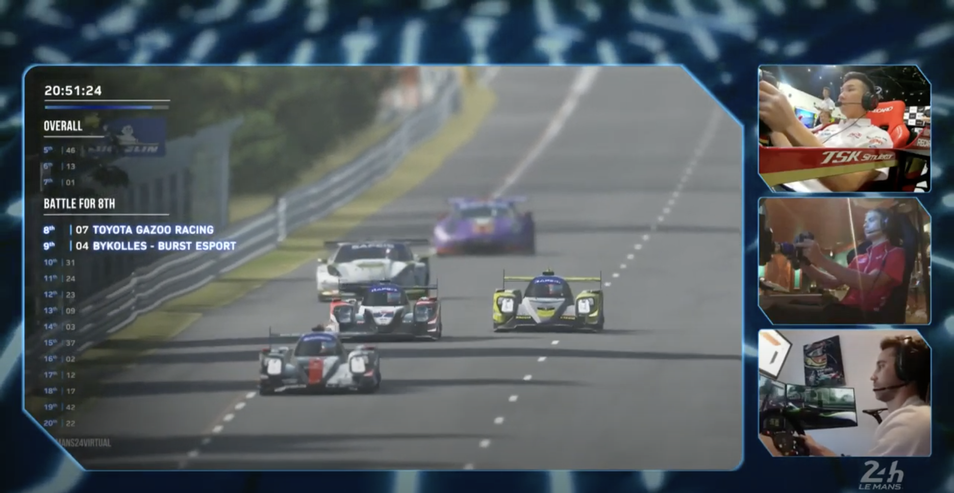 Virtual sanity makes Le Mans 24 an online success