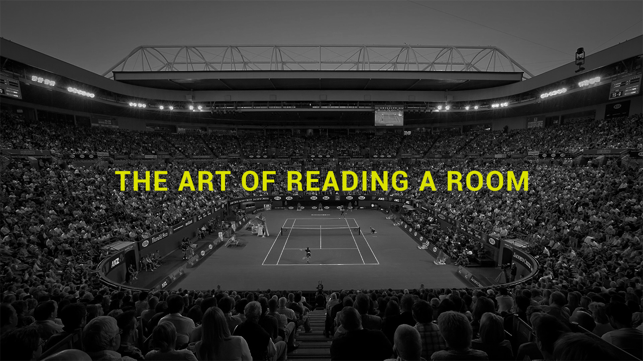 The art of reading a room