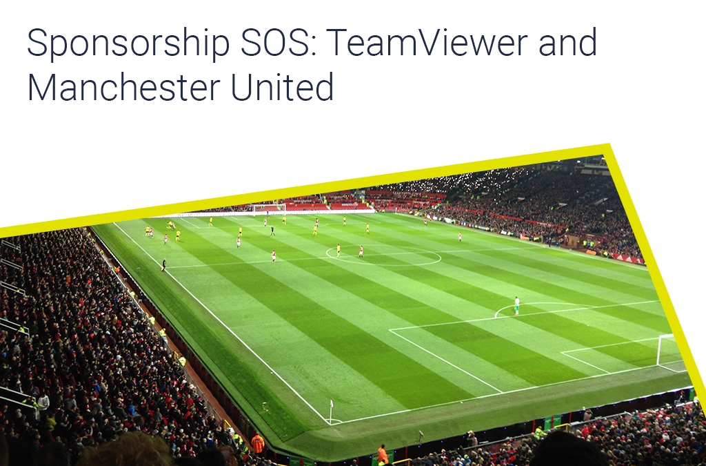 Sponsorship SOS: TeamViewer and Manchester United